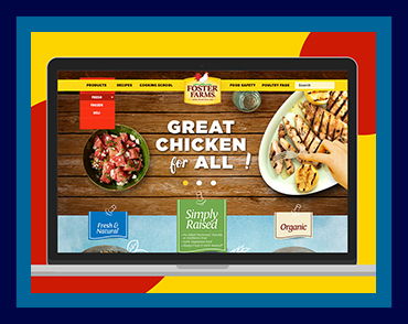 Foster Farms Homepage